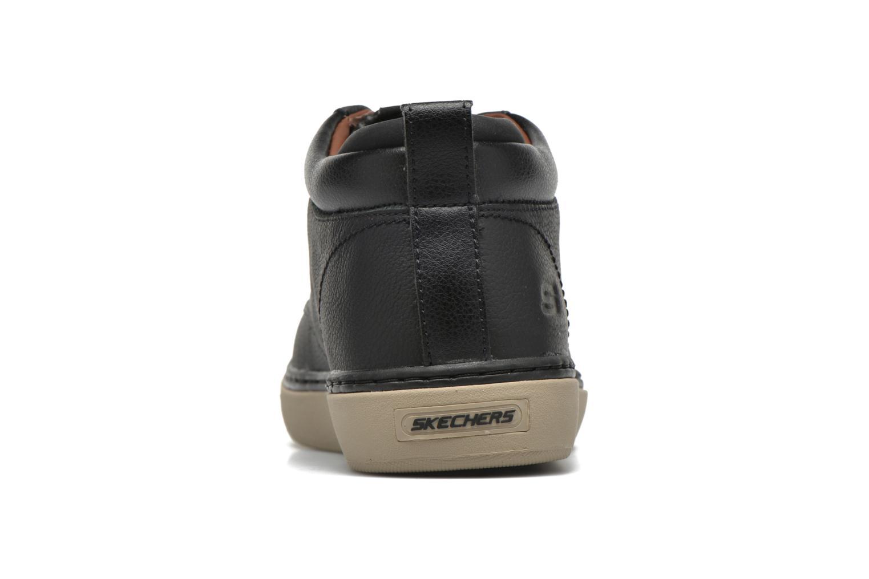 Chaussures à lacets Skechers Palen Noir vue droite