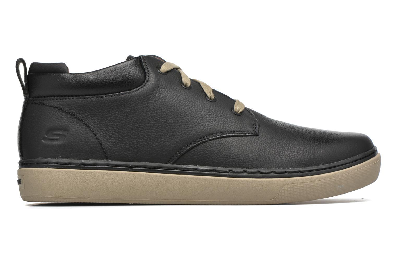 Chaussures à lacets Skechers Palen Noir vue derrière