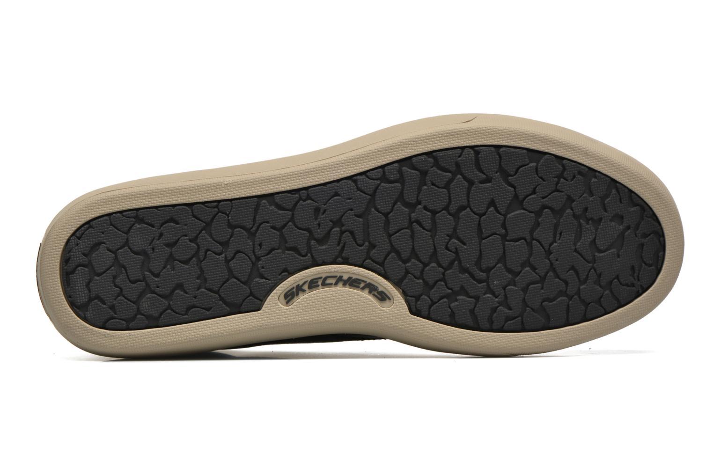 Chaussures à lacets Skechers Palen Noir vue haut