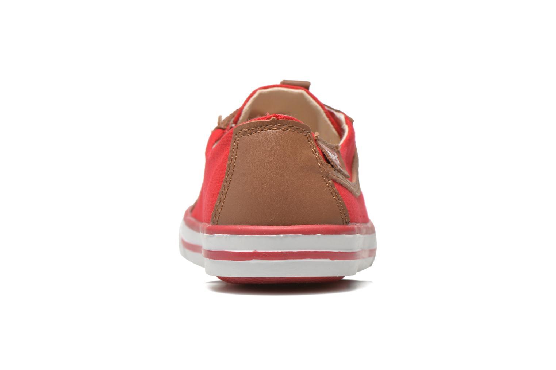 Sneakers Levi's Goalkin Rosso immagine destra