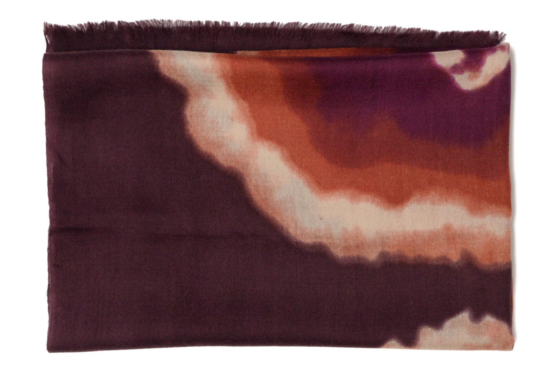 Echarpe imprimée laine 80x200 2 Multicolore