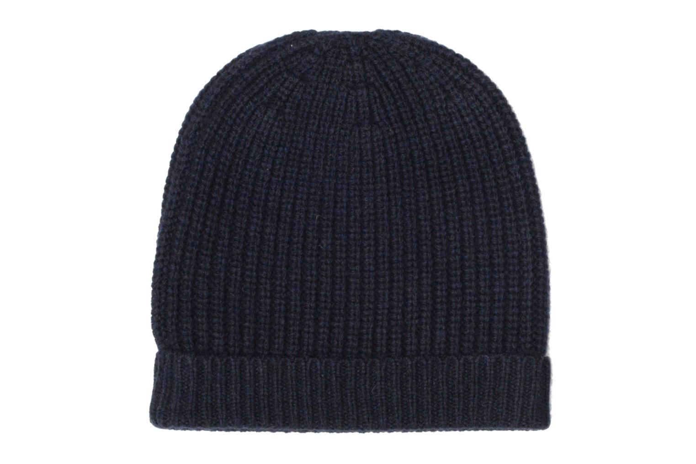 Divers Bensimon Bonnet tricoté laine cachemire Bleu vue détail/paire