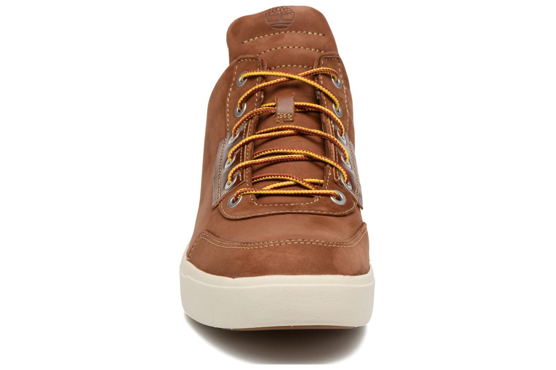 Baskets Timberland Amherst High Top Chukka Marron vue portées chaussures