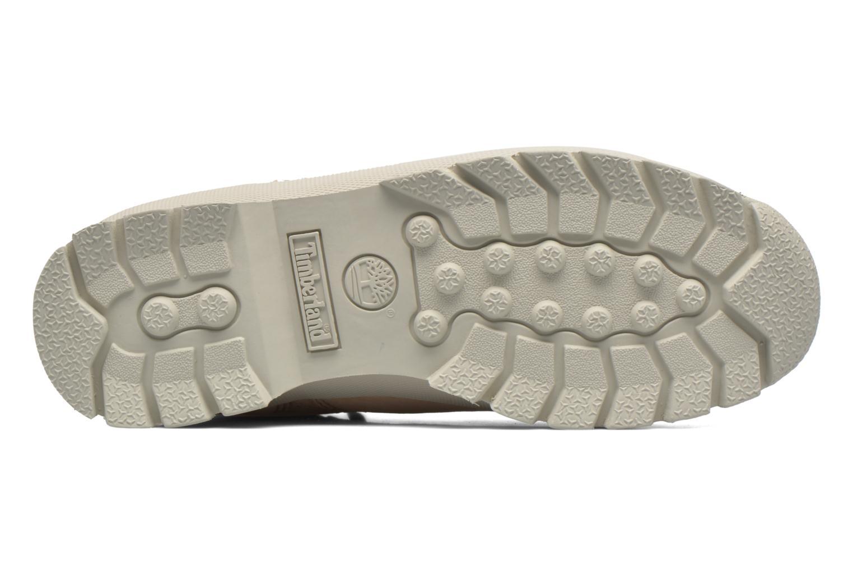 Zapatos con cordones Timberland Euro Hiker Leather Rosa vista de arriba