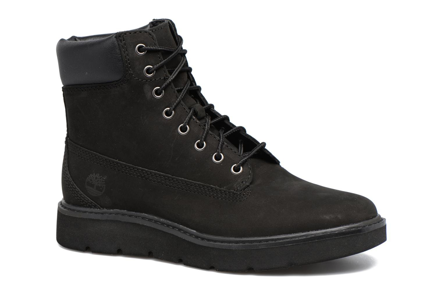 Kenniston 6in Lace Up Black Nubuck Black Out