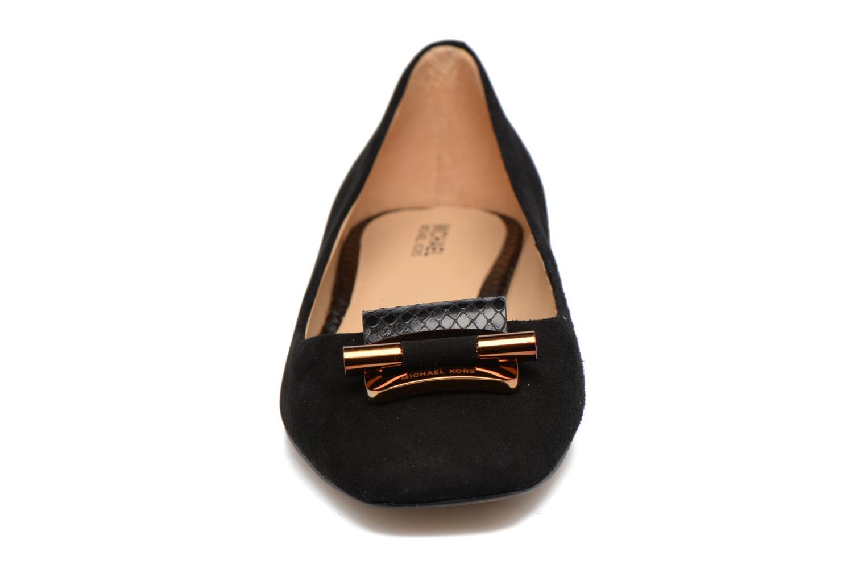 Ballerines Michael Michael Kors Gloria Bootie Noir vue portées chaussures