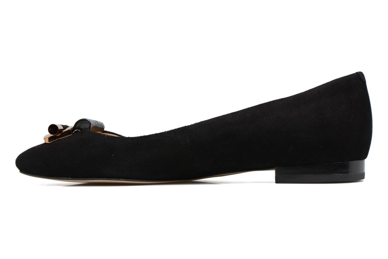 Bailarinas Michael Michael Kors Gloria Bootie Negro vista de frente