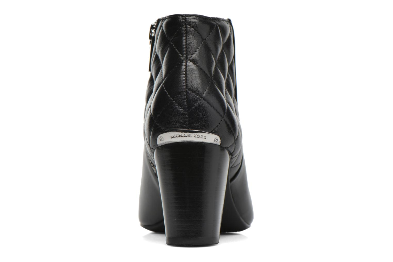 Botines  Michael Michael Kors Lucy Ankle Boot Negro vista lateral derecha