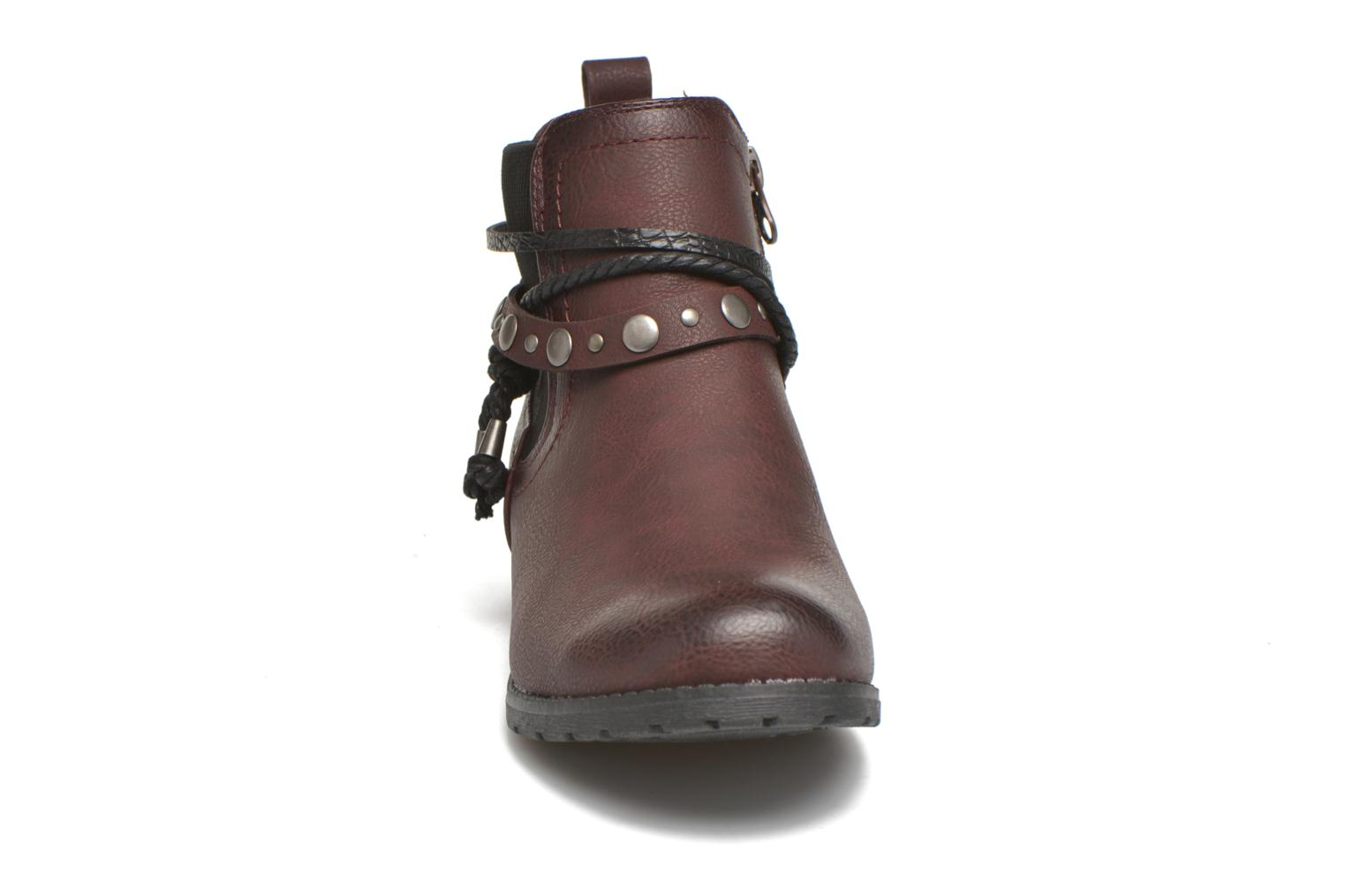 Ankle boots Tom Tailor Pauline Burgundy model view