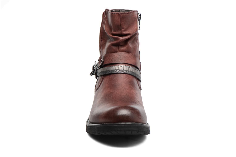Bottines et boots Tom Tailor Laure Bordeaux vue portées chaussures