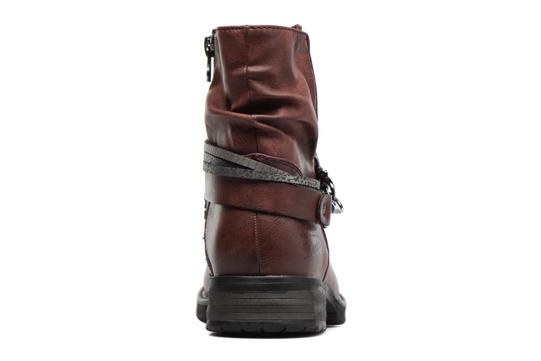 Bottines et boots Tom Tailor Laure Bordeaux vue droite