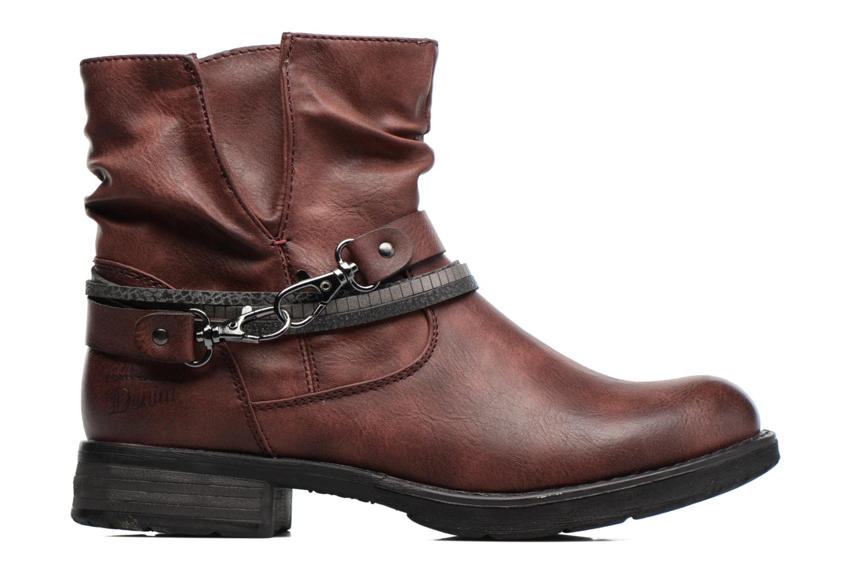 Bottines et boots Tom Tailor Laure Bordeaux vue derrière
