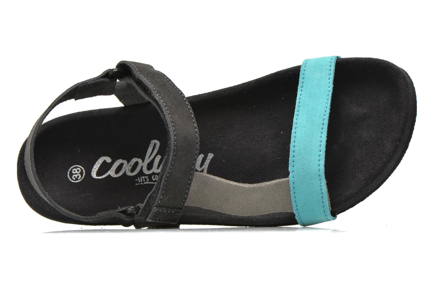 Sandals Coolway Salto Black view from the left