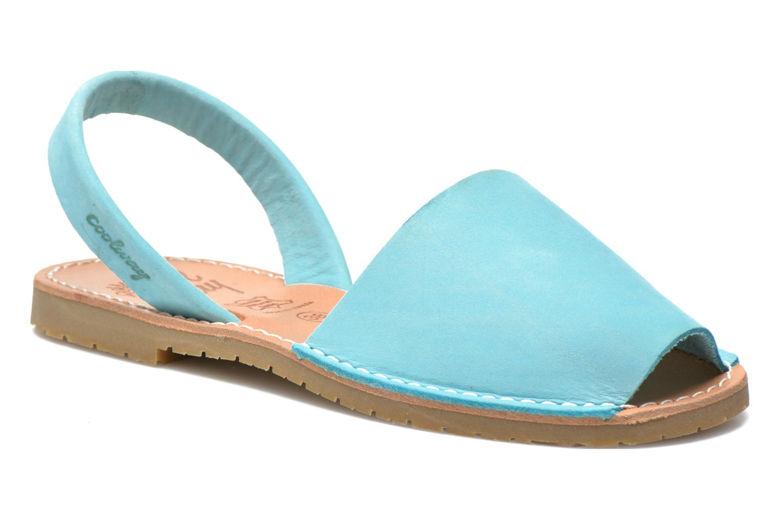 Sandals Coolway Seilor Blue detailed view/ Pair view