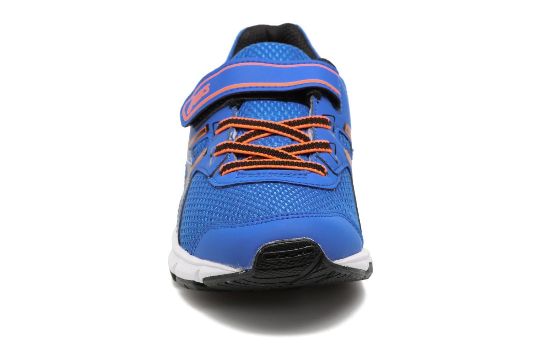 Chaussures de sport Asics Pre Galaxy 9 PS Bleu vue portées chaussures
