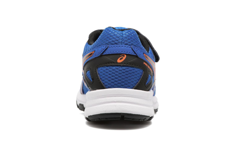 Sportschuhe Asics Pre Galaxy 9 PS blau ansicht von rechts
