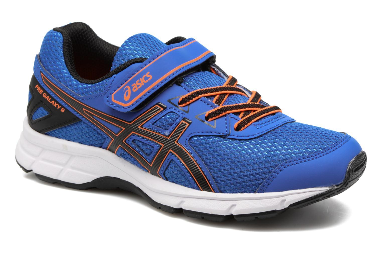 Chaussures de sport Asics Pre Galaxy 9 PS Bleu vue détail/paire