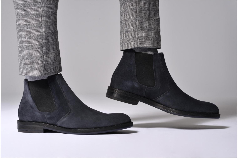 Bottines et boots Mr SARENZA Nethway Marron vue bas / vue portée sac