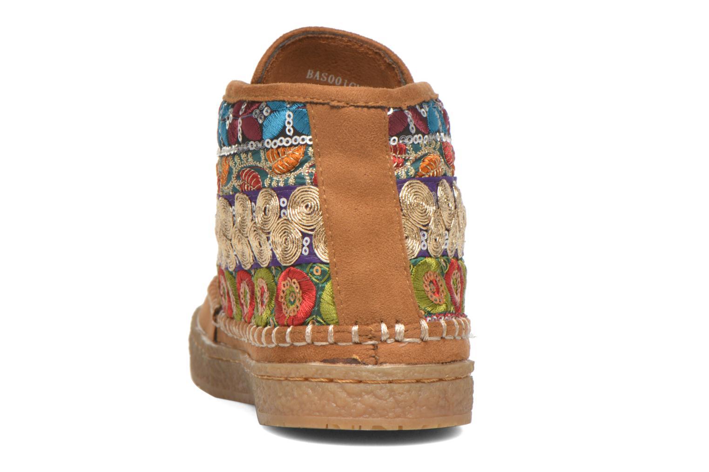 Chaussures à lacets Eclipse Zora Jaune vue droite