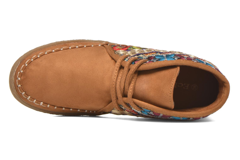 Chaussures à lacets Eclipse Zora Jaune vue gauche