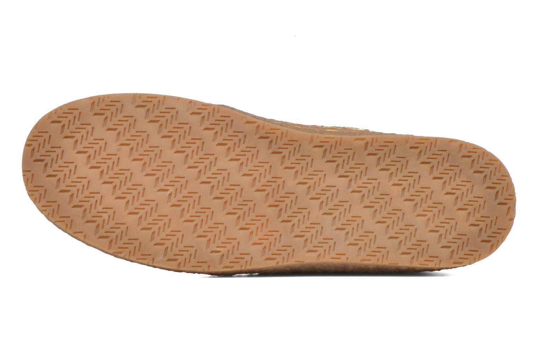 Chaussures à lacets Eclipse Zora Jaune vue haut