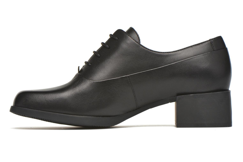 Chaussures à lacets Camper Kobo K200216 Noir vue face