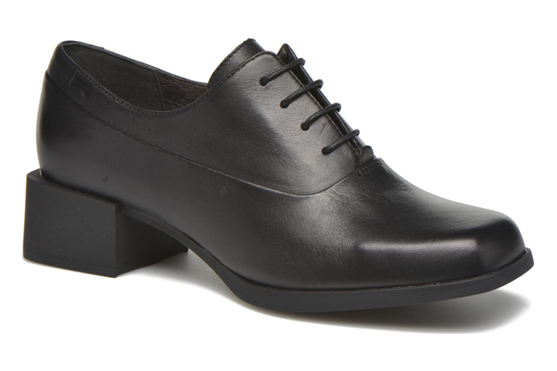Chaussures à lacets Camper Kobo K200216 Noir vue détail/paire