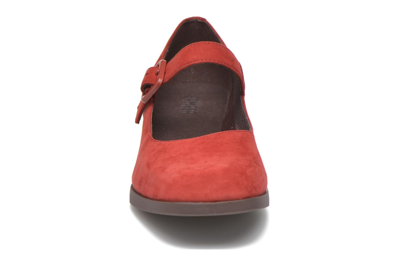 Ballerines Camper Kobo K200218 Rouge vue portées chaussures