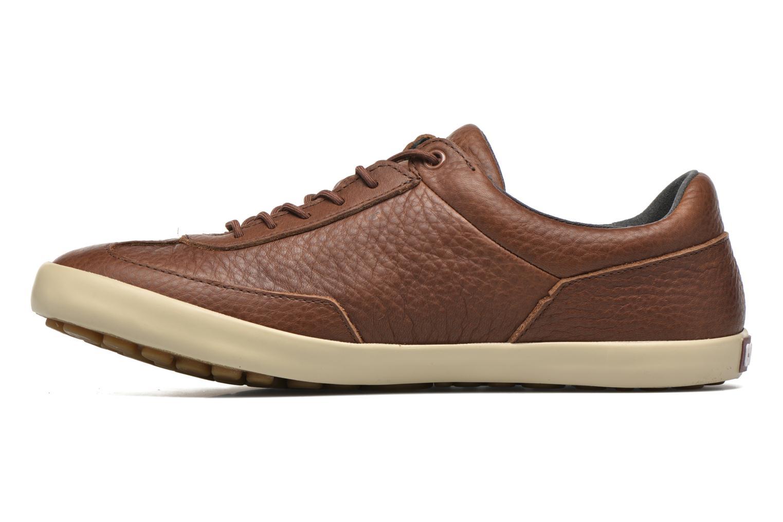 Chaussures à lacets Camper Pursuit K100126 Marron vue face