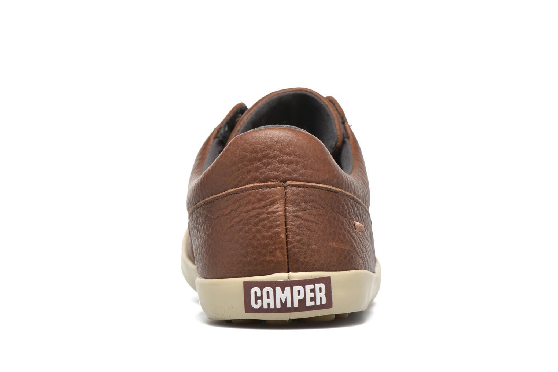 Chaussures à lacets Camper Pursuit K100126 Marron vue droite