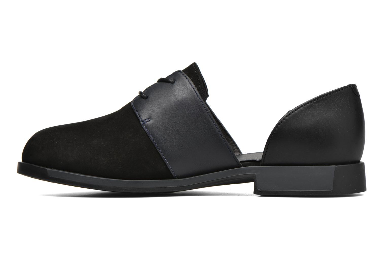 Chaussures à lacets Camper Bowie K200202 Noir vue face