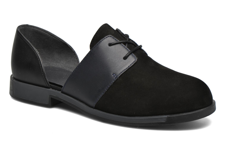 Chaussures à lacets Camper Bowie K200202 Noir vue détail/paire