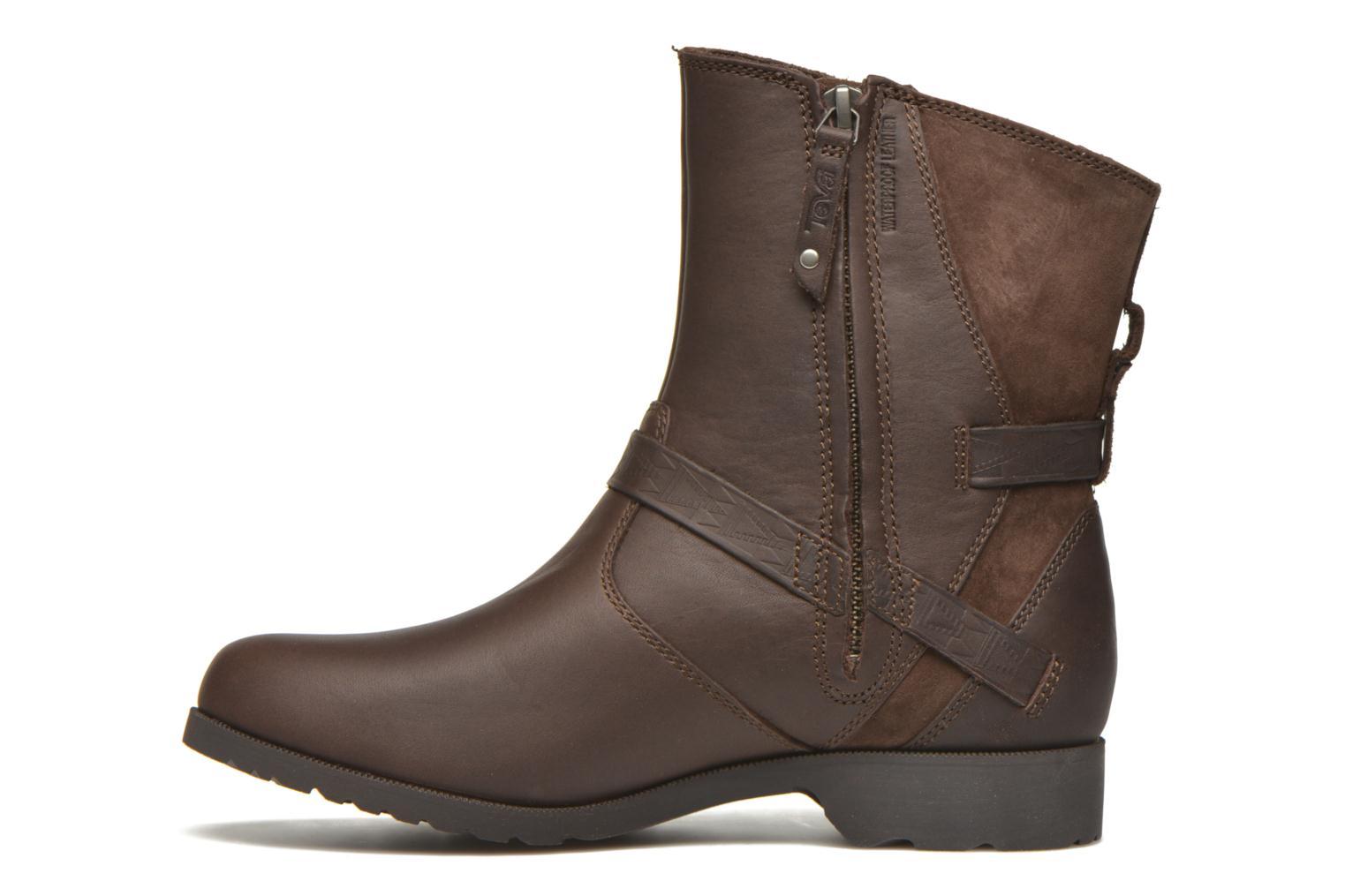 Bottines et boots Teva Delavina Low - Mosaic Marron vue face