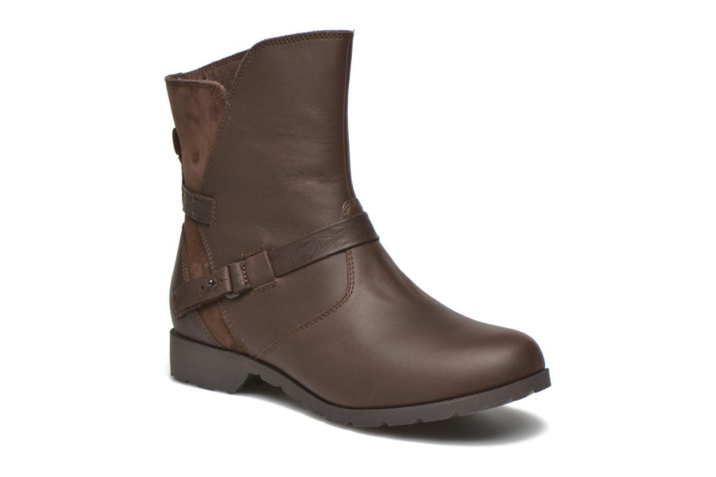 Bottines et boots Teva Delavina Low - Mosaic Marron vue détail/paire