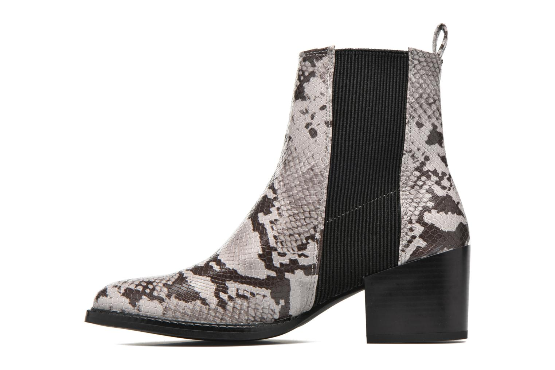 Bottines et boots Vero Moda Naya Boot Gris vue face