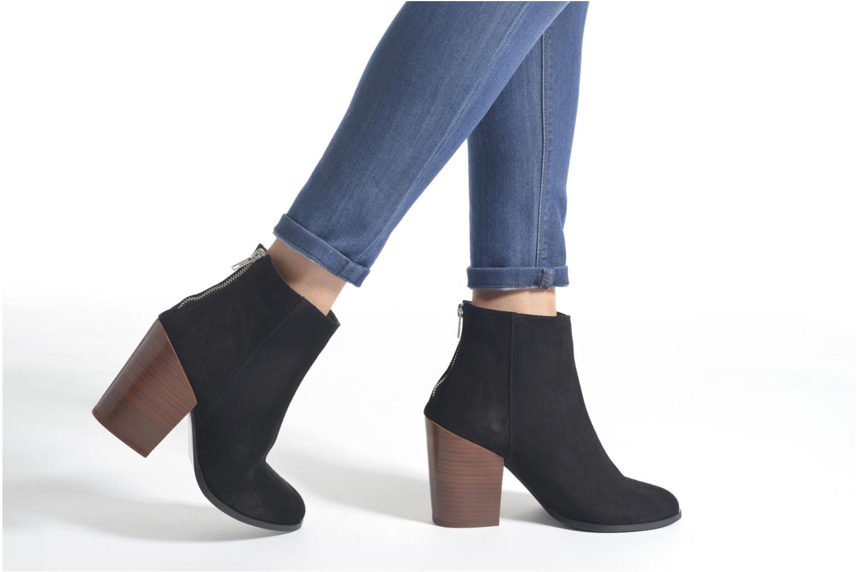 Bottines et boots Vero Moda Dorthe Leather Boot Noir vue bas / vue portée sac