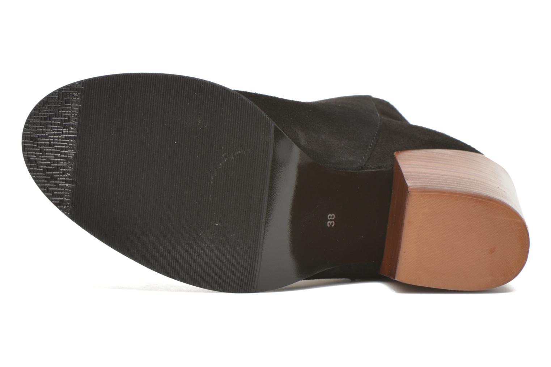 Bottines et boots Vero Moda Dorthe Leather Boot Noir vue haut