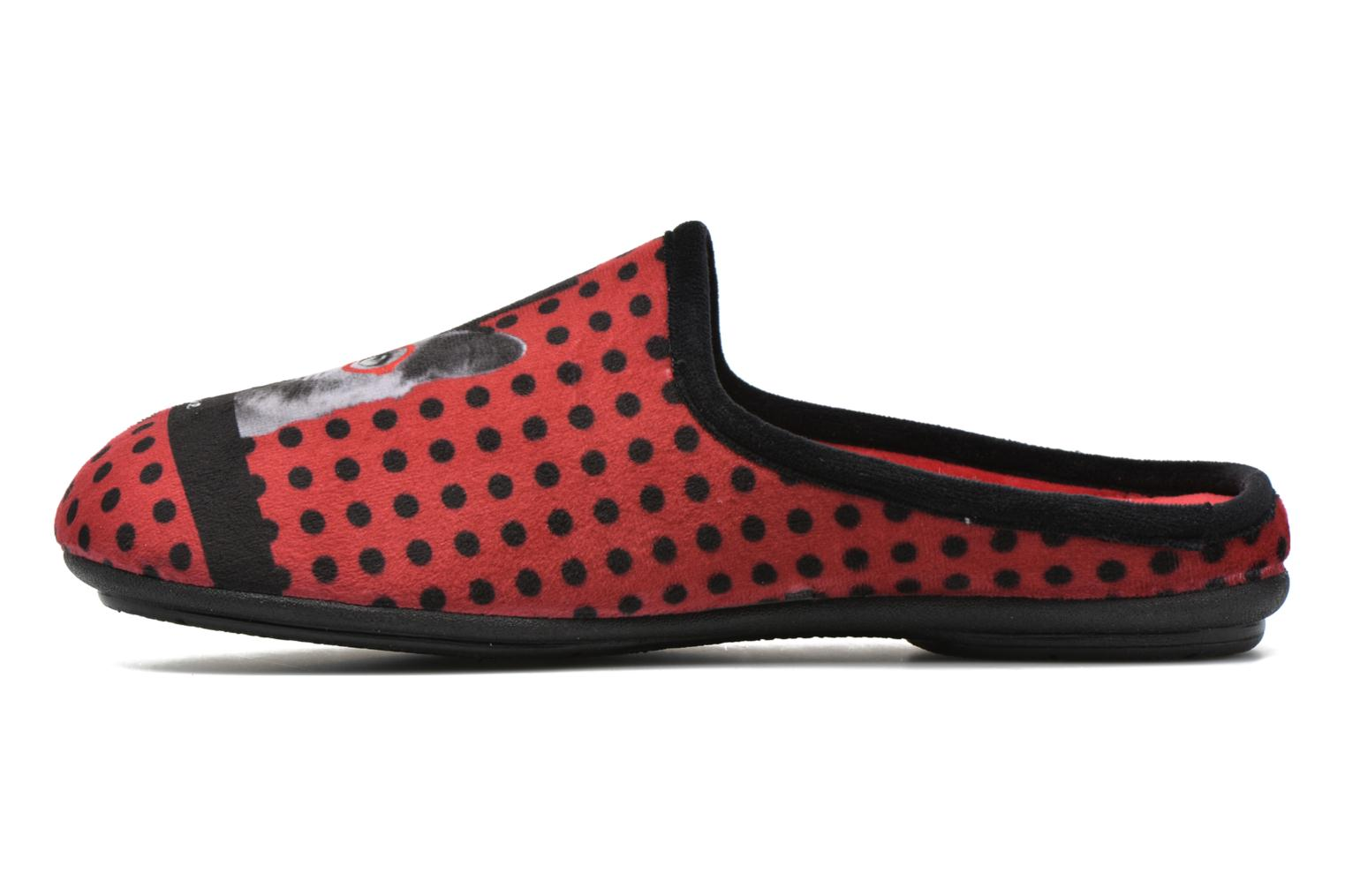 Chaussons Rondinaud Varenne Rouge vue face