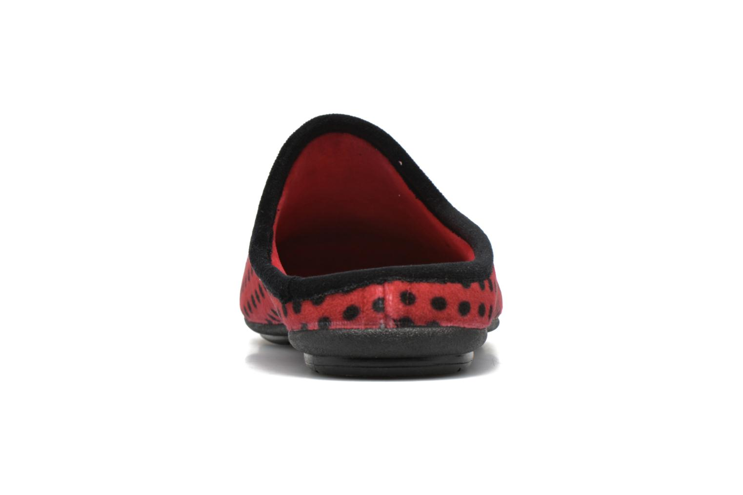 Chaussons Rondinaud Varenne Rouge vue droite