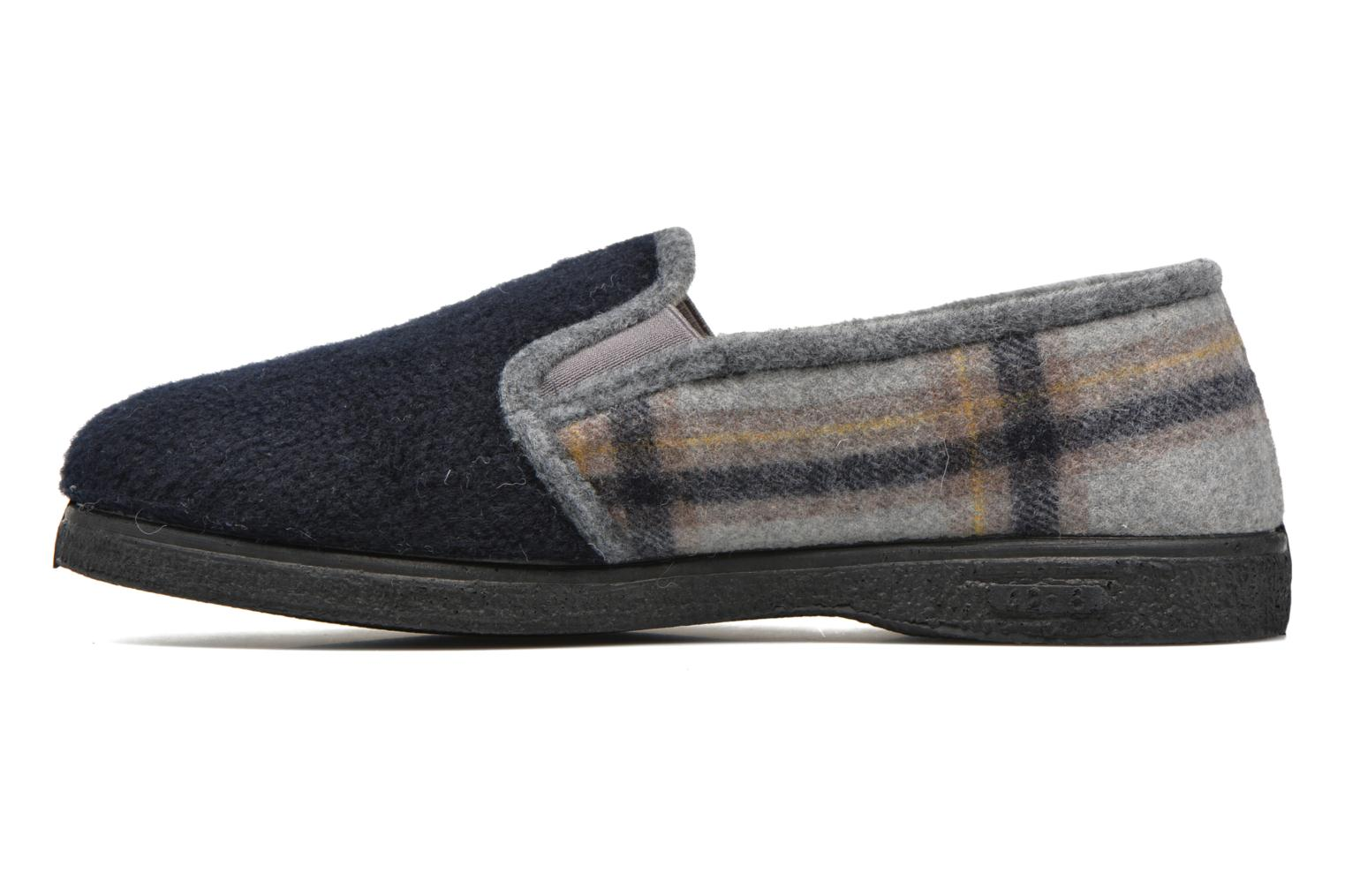 Slippers Rondinaud Douvres Blue front view