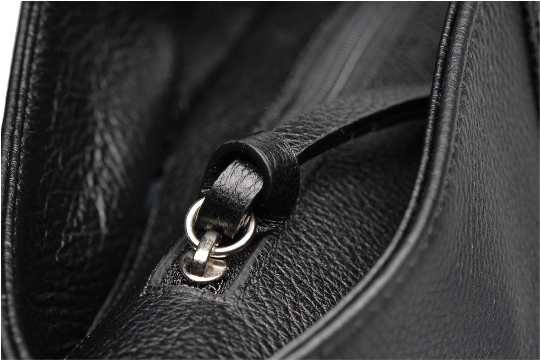 Sacs à main San Marina POLKA Cabas cuir Noir vue gauche