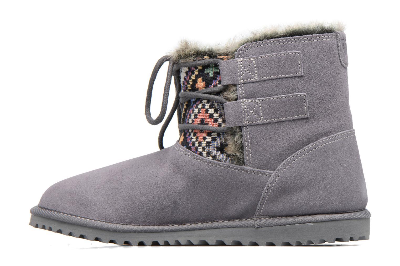 Bottines et boots Roxy Tara Gris vue face