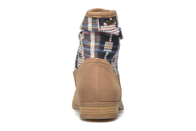 Bottines et boots Roxy Sedona Beige vue droite