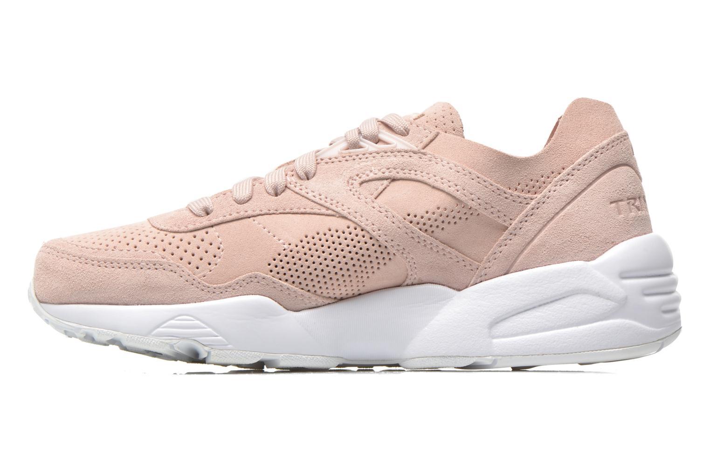 Sneaker Puma R698 Soft Pack rosa ansicht von vorne