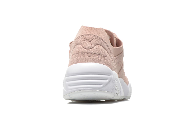Sneaker Puma R698 Soft Pack rosa ansicht von rechts