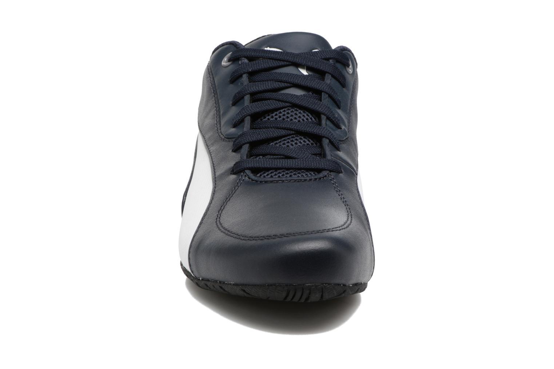 Baskets Puma BMW MS Drift Cat 5 Bleu vue portées chaussures