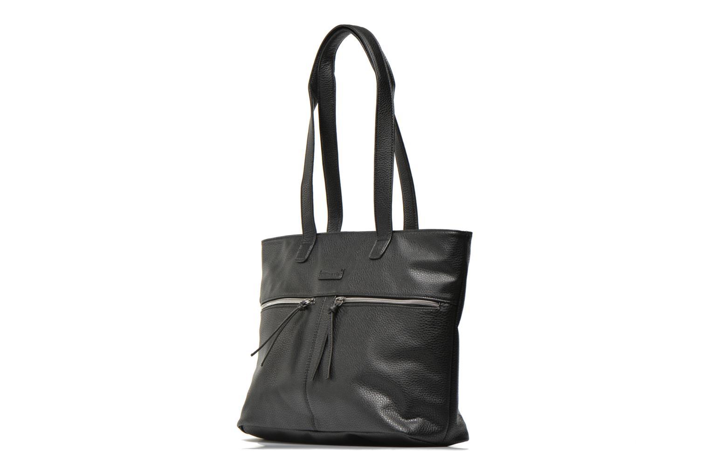 Handtaschen Tamaris GLAM BUSINESS Shopping bag schwarz schuhe getragen