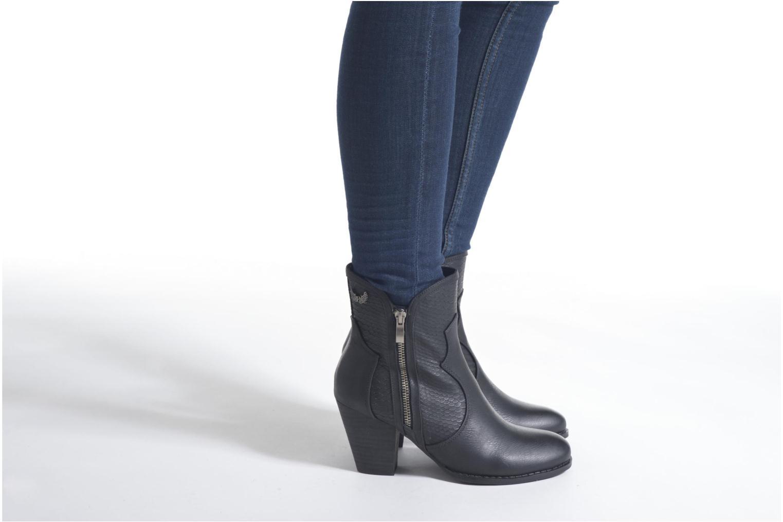 Stiefeletten & Boots Kaporal Pim schwarz ansicht von unten / tasche getragen