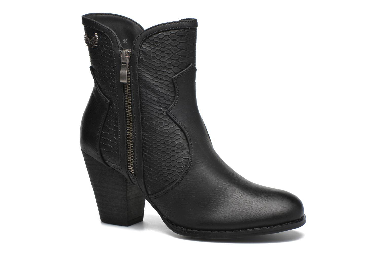 Boots en enkellaarsjes Kaporal Pim Zwart detail