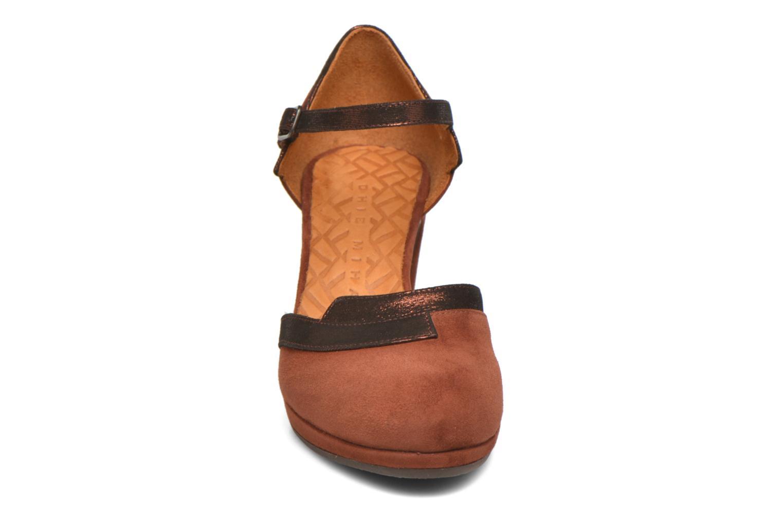 Zapatos de tacón Chie Mihara Migas Multicolor vista del modelo